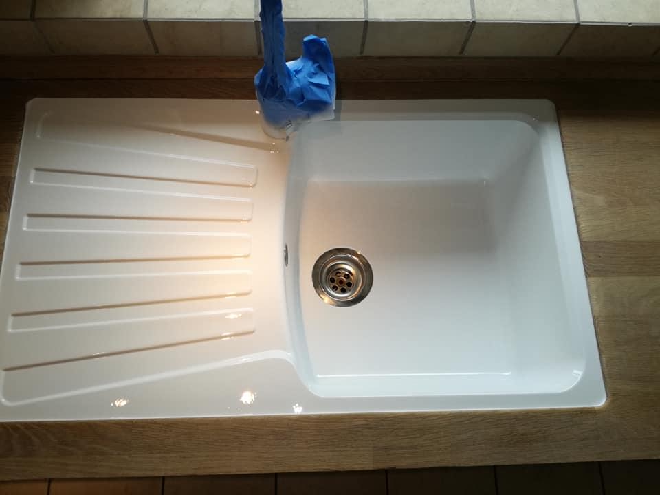Emaljering af vask