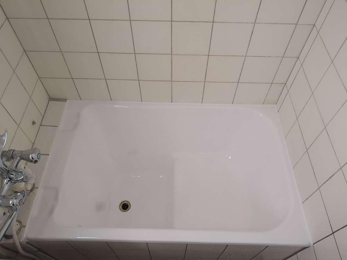 emaljering af badekar